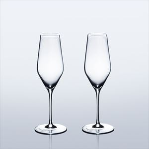 [Set] [Wooden box] Pair Eternal Glasses / Sake glass / UMAKUCHI / Wired Beans
