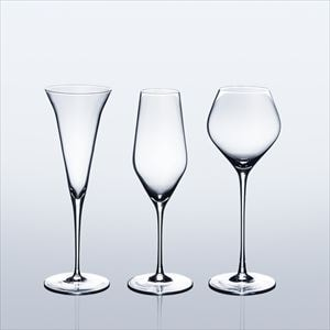 [Set of 3] [Wooden box] Eternal Glasses / Sake glass / KAORI & KARAKUCHI & UMAKUCHI / Wired Beans