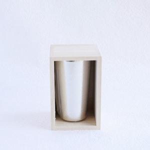 [Paulownia box] Beer cup / Nousaku_Image_1