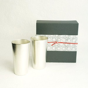 [Set] [Exclusive box]Pair beer cup/ Nousaku _Image_3