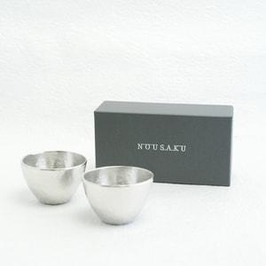 [Set] [Exclusive box] Pair Guinomi / Silver / Nousaku_Image_3
