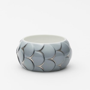 Bracelet DRAKE CUFF No.1 Grey Silver /2016 Saskia Diez