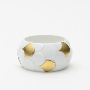 Bracelet DRAKE CUFF No.1 Gold Scales /2016 Saskia Diez