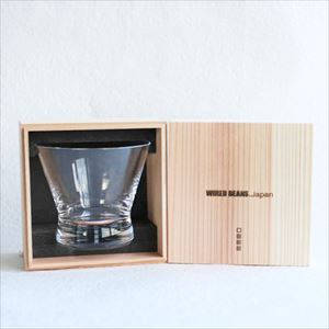 [Wooden box] Eternal Glass / Old fashioned glass f / Clear / Wired Beans