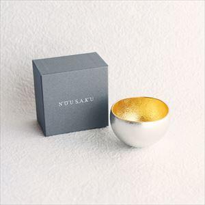 Kuzushi-Yure / Sake cup / Gold / Nousaku