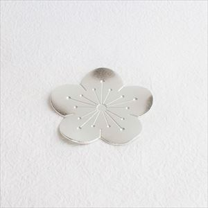 Tin Flower tray / Japanese plum / Nousaku