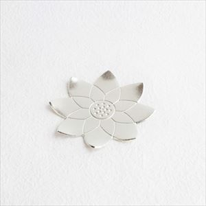 Tin Flower tray / Lotus / Nousaku