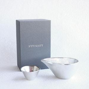 [Set][Exclusive box] 1 Katakuchi S Silver + 1 KIKI-ⅡSilver/ Nousaku