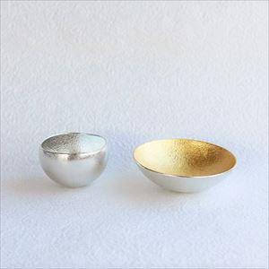[Set] Kuzushi-Yure Silver + Kuzushi-Tare Gold / Sake cup / Nousaku_Image_1
