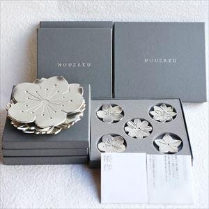 【セット】小皿/フラワートレー5枚・箸置き「花々」/能作_Image_3