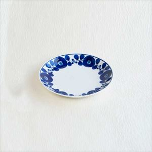 Plate S / Bloom series / Wreath / Hakusan Toki
