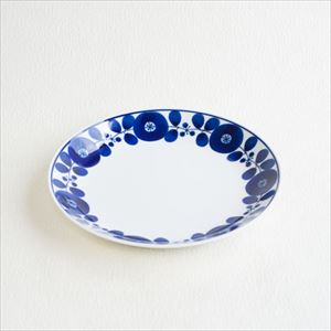 Plate L / Bloom series / Wreath / Hakusan Toki