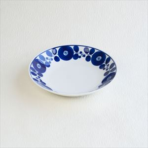 Free dish / Bloom series / Wreath / Hakusan Toki