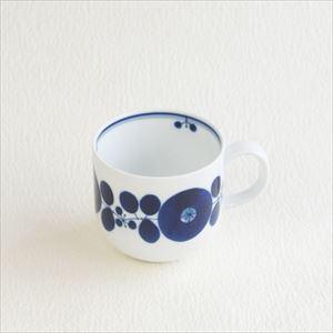 ブルーム リース マグカップ/白山陶器