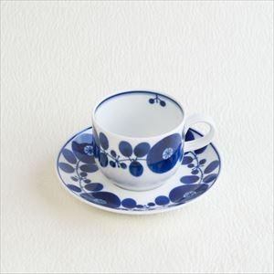 ブルーム コーヒーカップ&ソーサー/白山陶器