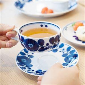 Teacup & saucer / Bloom series / Wreath / Hakusan Toki_Image_2