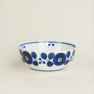 Bowl M / Bloom series / Wreath / Hakusan Toki
