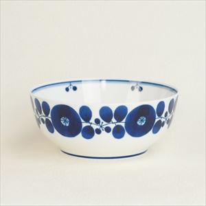 Bowl L / Bloom series / Wreath / Hakusan Toki