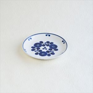 Plate S / Bloom series / Bouquet / Hakusan Toki