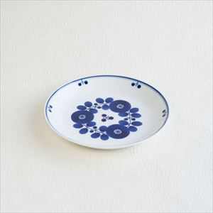 Plate M / Bloom series / Bouquet / Hakusan Toki
