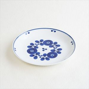 Plate L / Bloom series / Bouquet / Hakusan Toki