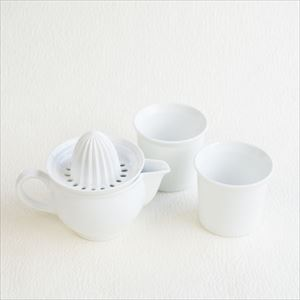 [Set of 3] Ceramic juicer & Coffee Cups