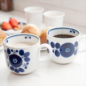 【セット】ブルーム マグカップ リース&ブーケ ペアセット/白山陶器_Image_2