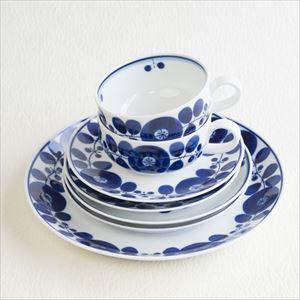 【セット】ブルーム ティータイムセット リース&ブーケ /白山陶器_Image_1