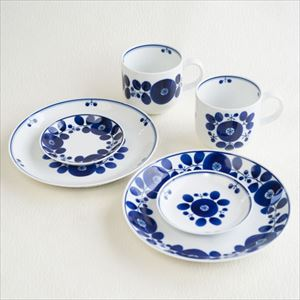[Set] Breakfast set/ Bloom series / Wreath & Bouquet / Hakusan Toki