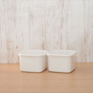 [Set] Square with seal lid / M×2 / Noda Horo