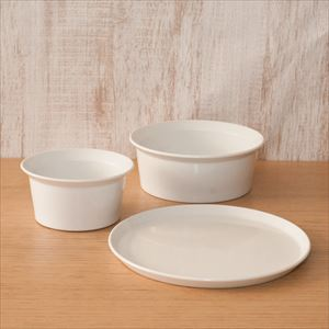 [Set] Basic Western-style tableware set / 3 items