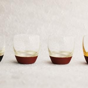 【セット】うるしの酒盃 丸型(銀赤2点セット) ギフトボックス入/鳥羽漆芸_Image_1