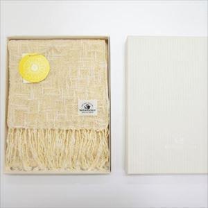 麻とボタニカルオーガニックの節糸マフラー ヒマワリ(ギフトボックス入り)/kobooriza _Image_3