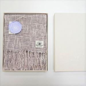麻とボタニカルオーガニックの節糸マフラー パンジー(ギフトボックス入り)/kobooriza _Image_3