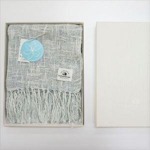 麻とボタニカルオーガニックの節糸マフラー クチナシ(ギフトボックス入り)/kobooriza _Image_3