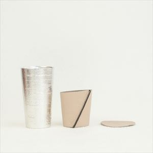 Beer cup White birch pattern / Beige / Nousaku_Image_1