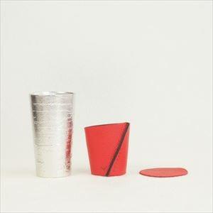 酒器/ビアカップ-シラカバセット レッド/能作_Image_1