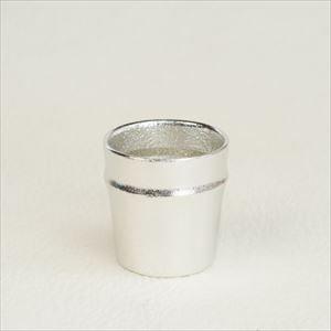 Guinomi / Sake cup / Bamboo / Silver / Nousaku_Image_1