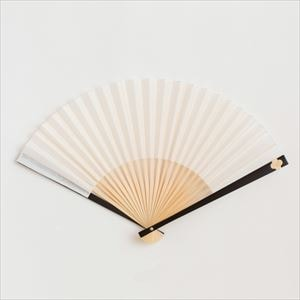 Japangarde fan / Flower / White / Nishikawa Shouroku shouten