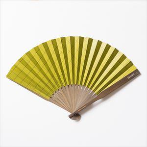 Dai-furyo fan / Matcha (Green) / Nishikawa Shouroku shouten