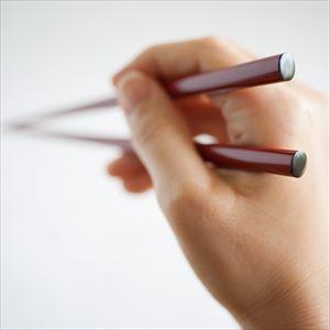 [Exclusive box] Oval lacquered chopsticks / Uwanuri / Honshu (Vermilion) / Wajima Kirimoto _Image_2