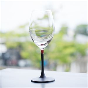 Lacquer colored wine glass / Blue / Toba Shitsugei_Image_2