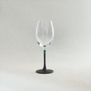 Lacquer colored wine glass / Green / Toba Shitsugei_Image_1