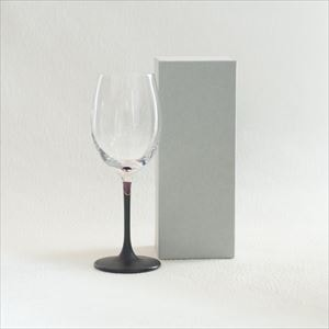 Lacquer colored wine glass / Purple / Toba Shitsugei