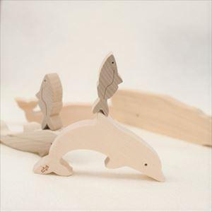 木のおもちゃ/海のいきものつみき/オークヴィレッジ_Image_1