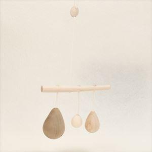 Yura Yura Karan / Wooden rattle / Anomatopee series / Oak Village_Image_1