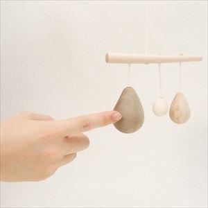 Yura Yura Karan / Wooden rattle / Anomatopee series / Oak Village_Image_2