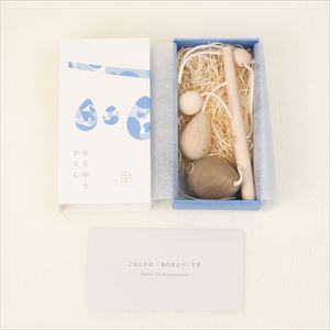 Yura Yura Karan / Wooden rattle / Anomatopee series / Oak Village_Image_3