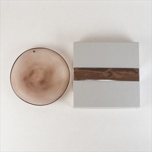 ガラスプレート/kasumi plate S purple/fresco