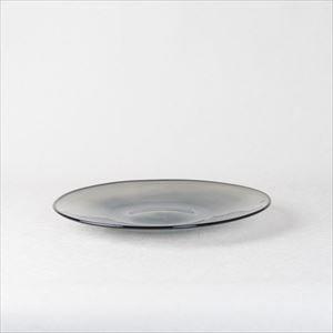 ガラスプレート/kasumi plate M grey/fresco_Image_1